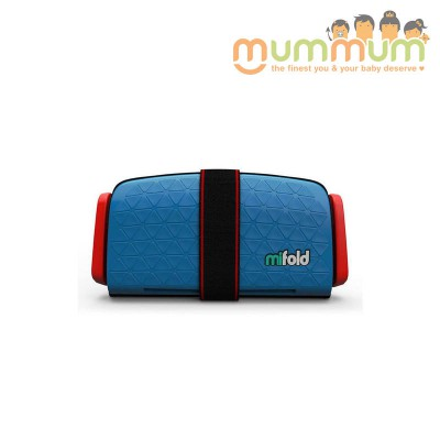 Mifold Travel booster Blue 4+