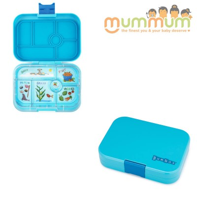 Yumbox 6 compartments Blue Fish