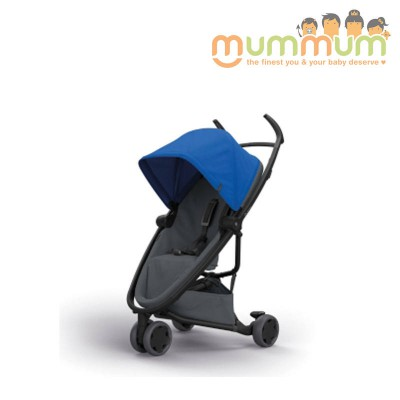 Quinny Flex Stroller Blue on Graphite