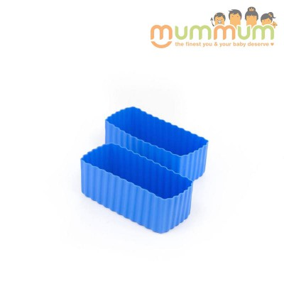 Little lunch box co cup rectangle blue