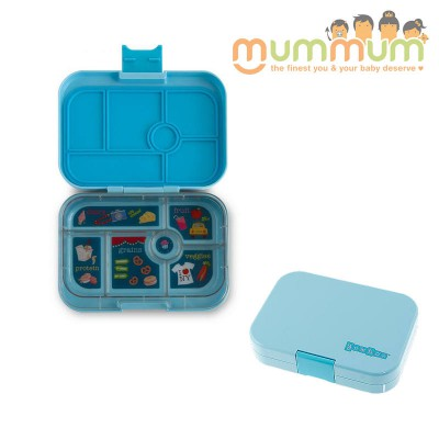 Yumbox 6 Compartments Liberty Blue