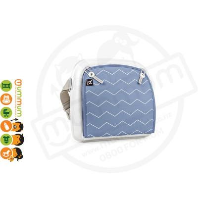 Benbat Yummigo Portable Booster Feed & Go Storage (Blue)