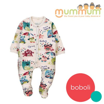 Boboli Fleece Playsuit For Baby