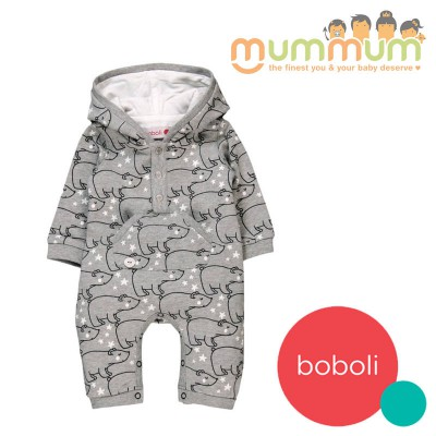 Boboli Fleece Playsuit