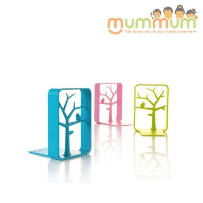 KID2YOUTH BOOK ENDS 3 COLORS PINK /BLUE/ GREEN