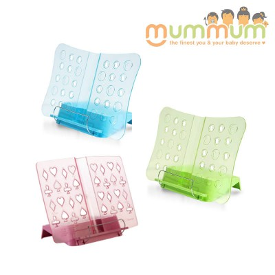 KID2YOUTH BOOK HOLDER PINK/ BLUE/ GREEN