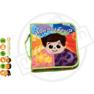 Lamaze How Do I Feel? Soft Infant Development Book