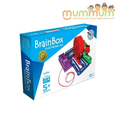 Brain Box FM Radio Experiment  Electronic Kit