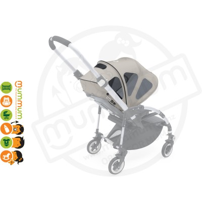 bugaboo bee breezy sun canopy Grey