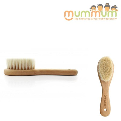 Haakaa Goat Wool Wooden Baby Hair Brush Comb