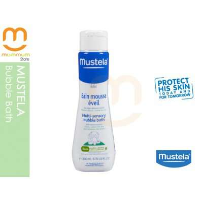 Mustela Stimulates Multi-sensory Bubble Bath 200ml