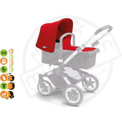 Bugaboo Buffalo Tailored Canopy  - Red