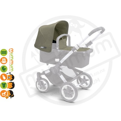 Bugaboo Buffalo Tailored Canopy  - Dark Khaki