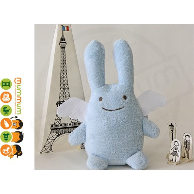 Trousselier Angel Bunny Musical  Bunny Washable Easter Gift