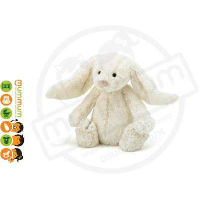 Jellycat Bashful Cream Bunny Ultra-Soft Medium