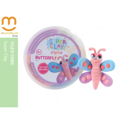 Tiger Tribe No-Bake Super Clay Super Fun-Butterfly