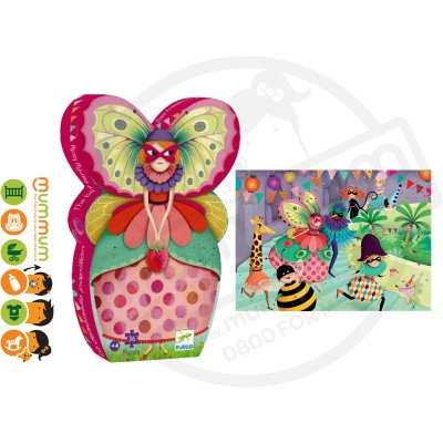 Djeco Puzzle The Butterfly Lady 36pcs 4Y+