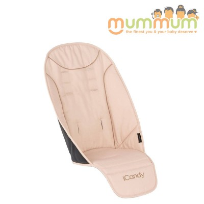 Icandy Peach universal seat liner butterscotch