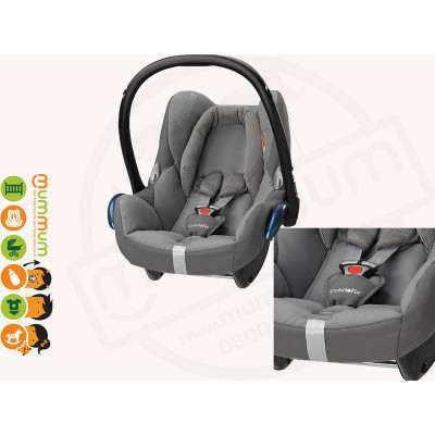 Maxi Cosi Cabriofix Capsule Carseat Concrete Grey Colour