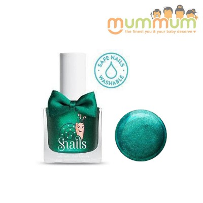 Snails Nail Polish Kids Safe Washable Candy Apple