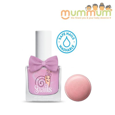 Snails Nail Polish Kids Safe Washable Candy Floss