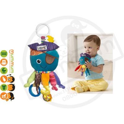 Lamaze Play and Grow Captain Calamari Soft Toy