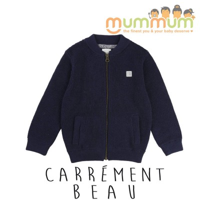 Carrement Beau Knitted Cardigan Navy