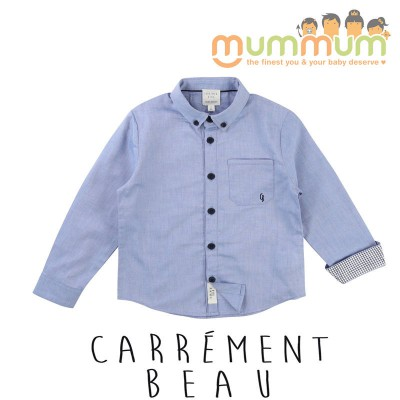 Carr̩ment Beau Shirt Turquoise