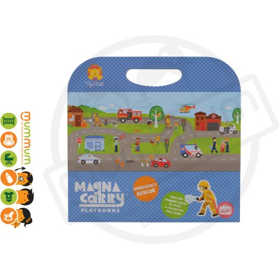 Tiger Tribe Magna Carry Playbook Emergency Rescue 3Y+