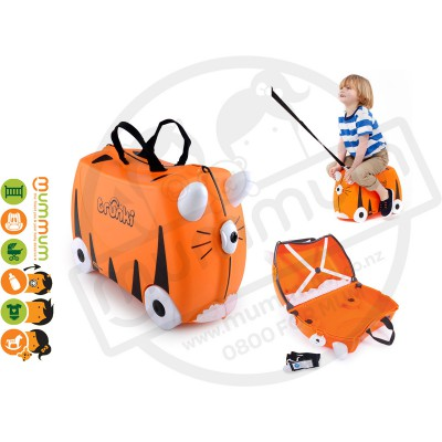 Trunki Ride On Case Tipu Tiger
