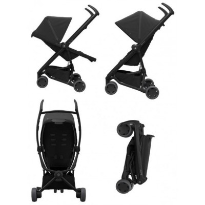 Quinny Flex Stroller Black on Black