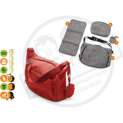 Stokke Changing Bag - Red
