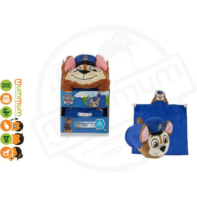 Comfy Critter-Paw Patrol Chase Snuggle Blanket