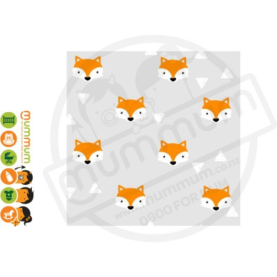 Little Shades Stick On Decals - Cheeky Fox