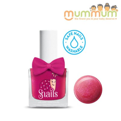 Snails Nail Polish Kids Safe Wshable - Cheerleader