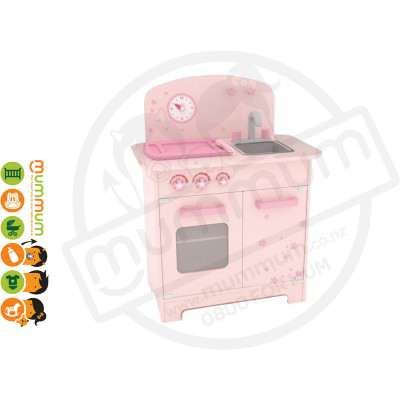 Hape Cherry Blossom Play Kitchen Included Accessories