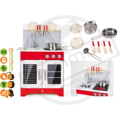 Hape City Cafe Play Kitchen Included Accessories