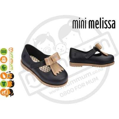 Mini Melissa Classic Baby II 51496 Black/Caramel