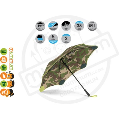 Blunt Umbrella Classic Camouflage Yellow