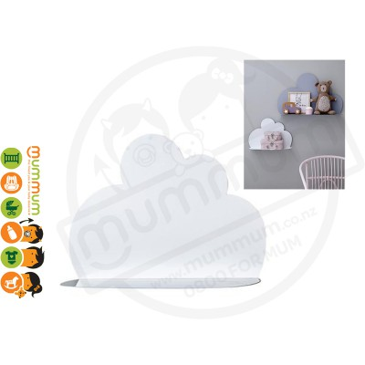 Bloomingville Cloud Shelf Metal White Small Size 40cm