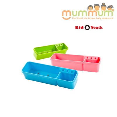 KID2YOUTH STORAGE CONTAINER PINK / GREEN / BLUE