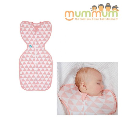 Love to Dream Swaddle Up Bamboo Summer lIte 0.2 Tog  Coral Medium