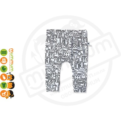 Minti Baby Cosy Pant White
