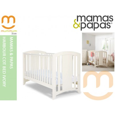 Mamas & Papas Harbour Cot/Day/Toddler Bed Ivory