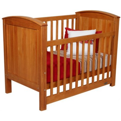 Touchwood Meadow Panelled Cot Rimu