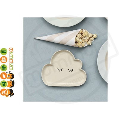 Bloomingville Smilla Plate Cloud
