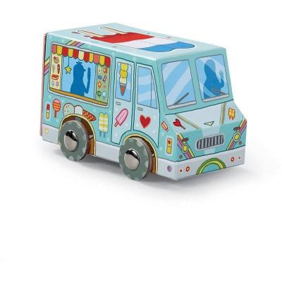 Crocodile Creek Ice Cream Truck Vehicle Puzzle 24 Pieces