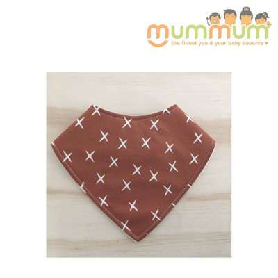 Eversweet Dribble Bib Cross Brown