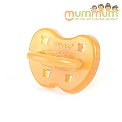 Hevea Round Pacifier Crown 0-3