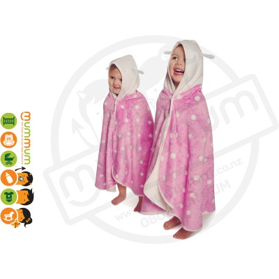 Cuddledry Cuddlebug Supersoft Toddler Bath Towel